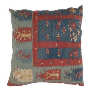 Leon Banilivi Kilim Fragment Pillow