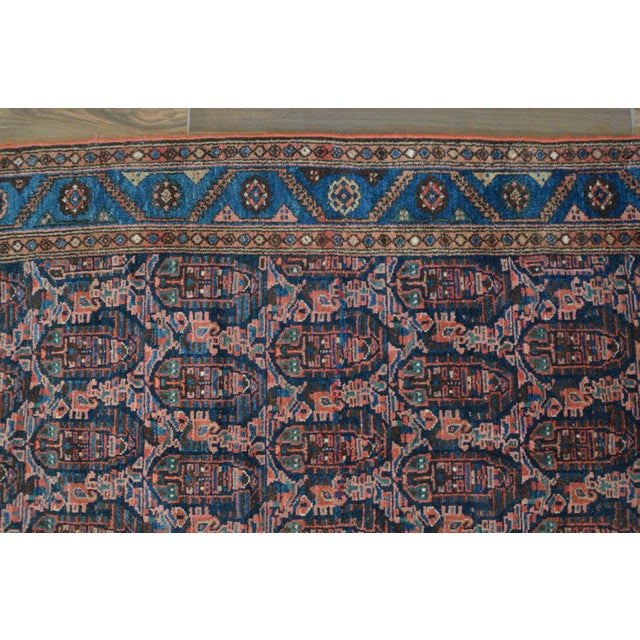 "Paisley Antique Persian Malayer Rug - 3'10"" X 6'4"" - Image 5 of 8"