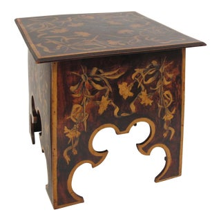 Arts & Crafts Lift Top Table