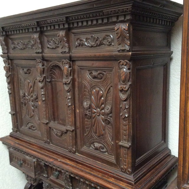 Mediterranean Style Antique Elements Cabinet - Image 10 of 11