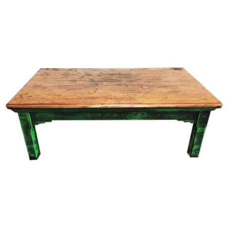 Vintage Mexican Pine Coffee Table Chairish