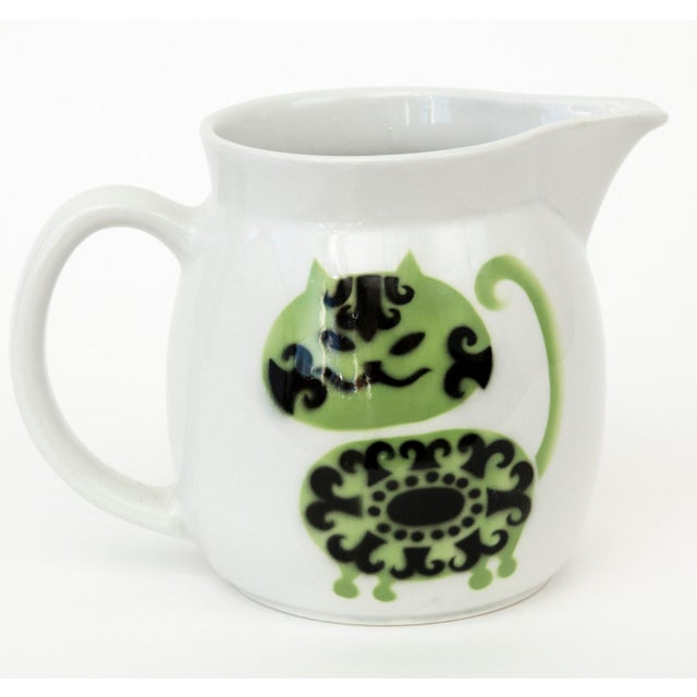 Image of Arabia of Finland Kaj Franck Cat Pitcher