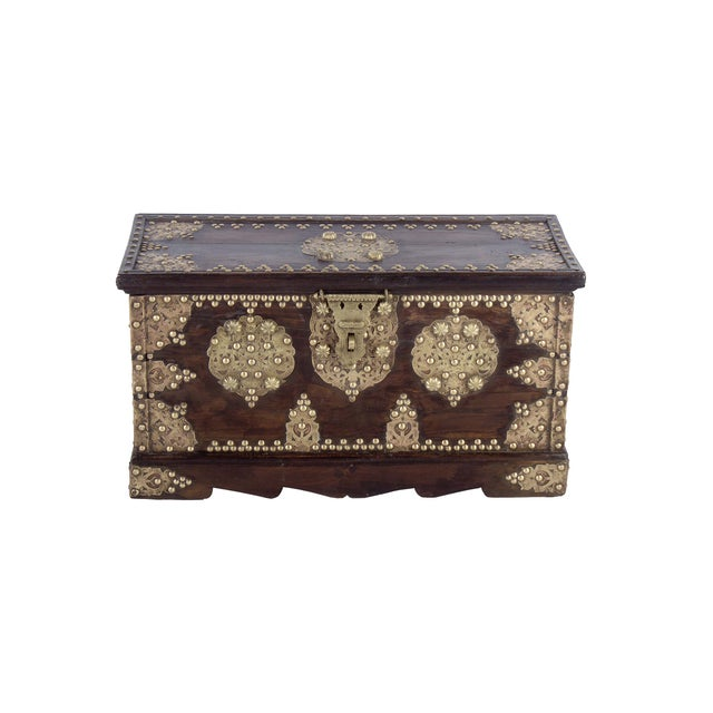 """Image of Royal Antique Style Treasure Chest/Box 28"""""""