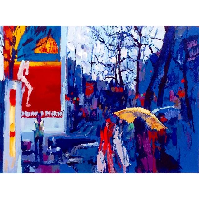 """Nicola Simbari """"Paris at Dusk"""" Serigraph - Image 2 of 9"""