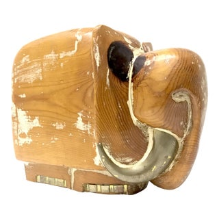 Modernist Spanish Elephant Sculpture