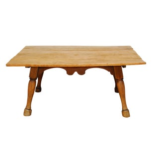 English Tavern Table With Horse Legs