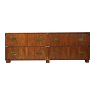 Baker Furniture Campaign Style Dresser