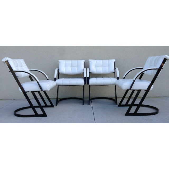 Mid-Century Z-Bar Armchairs by Cal-Style - Image 4 of 8