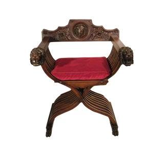 19th C. Venetian Savonarola Chair