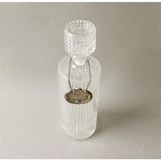 Vintage Crystal Glass Liquor Decanter Bottle Vodka - Image 4 of 6
