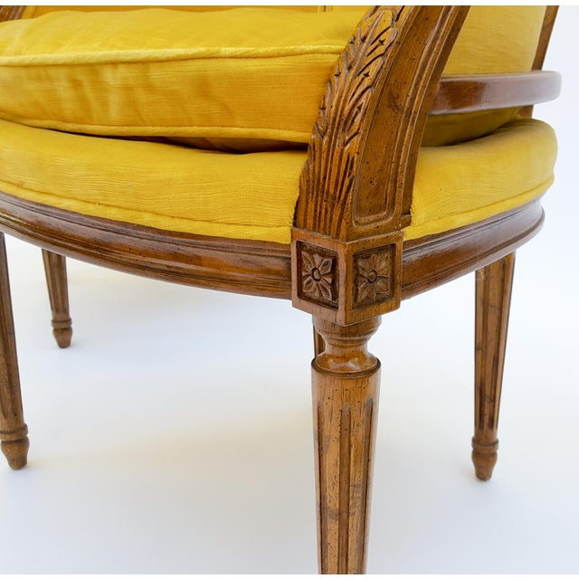 Image of Heritage French Style Bergere Chairs - Pair