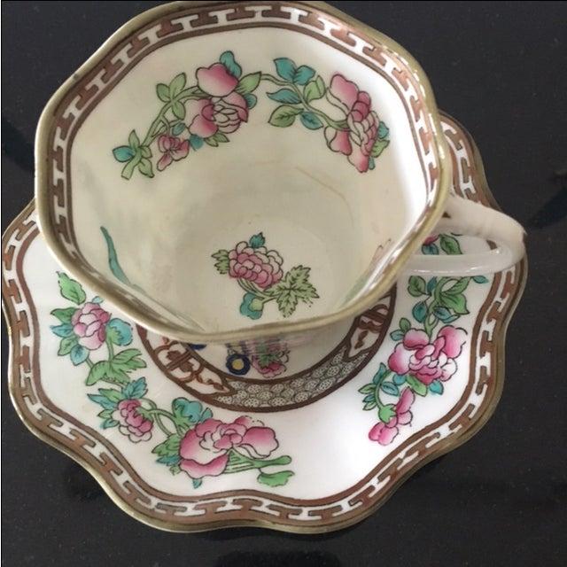 Vintage Coalport Bone China Tea Cup and Saucer Set - Image 3 of 7