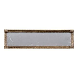 Antique English Georgian Overmantle Mirror