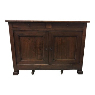 19th-C. French Oak Sideboard