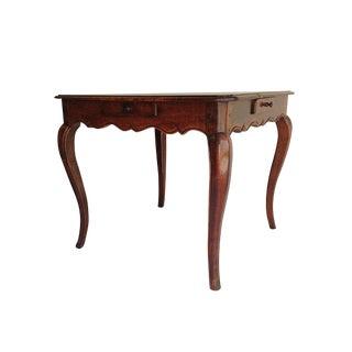 Antique Italian Walnut Game Table