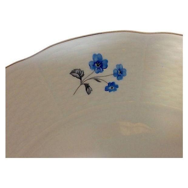 Vintage Blue & White Floral Bohemia China - 18 - Image 5 of 7