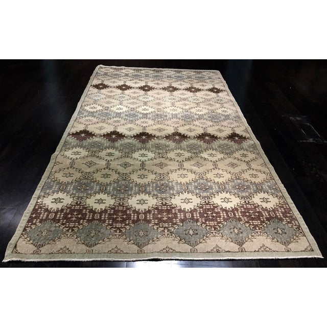 "Image of Vintage Turkish Zeki Muren Rug - 5'1""x11'"