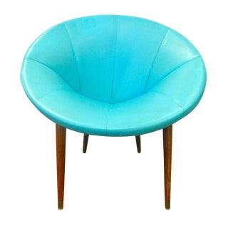 Mid Century Modern Round Chair