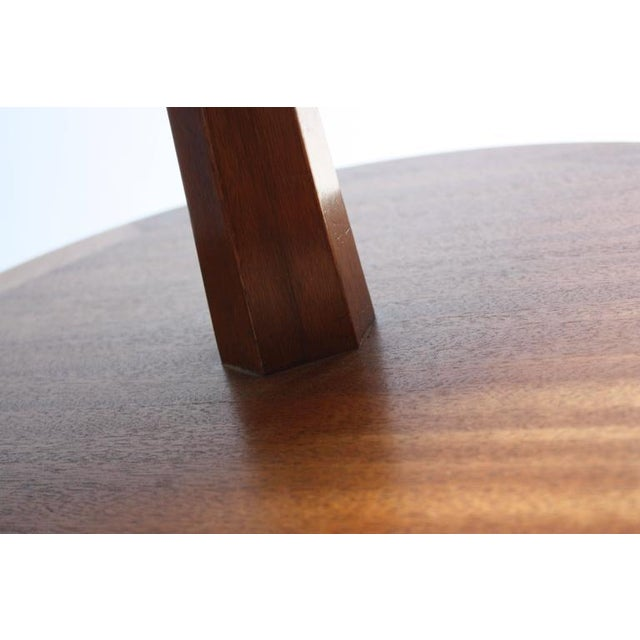 Edward Wormley for Dunbar, Two-Tier Mahogany Occasional Table - Image 4 of 10