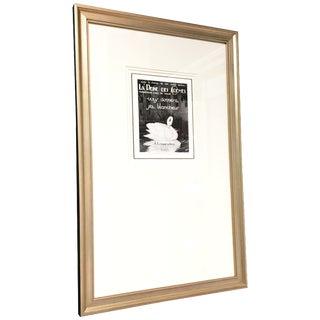 1920s Framed Parisian Ad