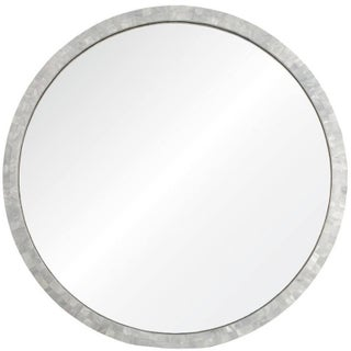 Mother of Pearl Circle Mirror