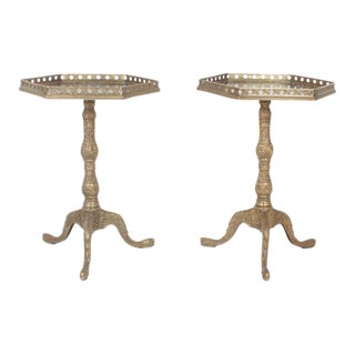Pair of Antique French Side Tables