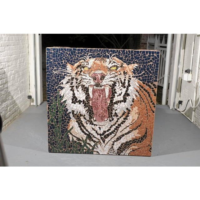 Mosaic Tiger Coffee Table - Image 4 of 7