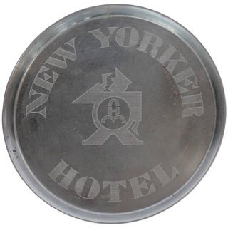 Original Art Deco New Yorker Hotel Tray