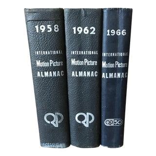 Vintage International Motion Picture Almanac Books - Set of 3