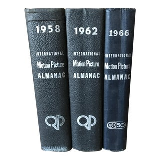 Vintage International Motion Picture Almanac Books - Set of 3