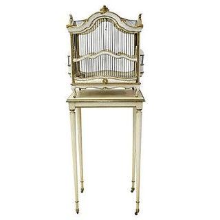 Florentine Birdcage & Pedestal