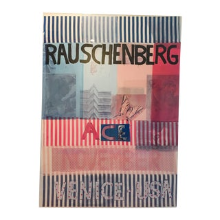 Acrylic Framed Rauschenberg Gallery Poster