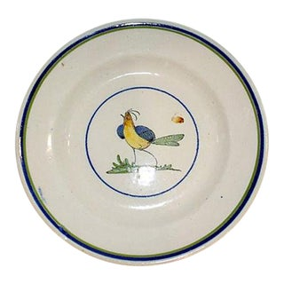 French Faience Ironstone Bowl