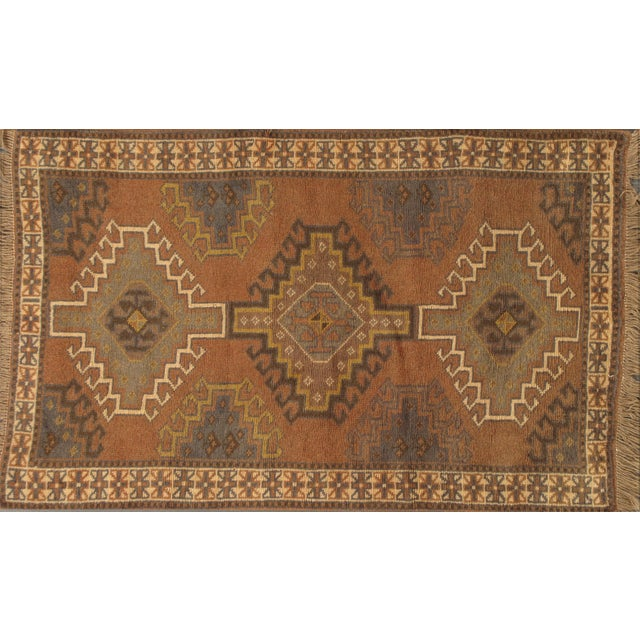 "Image of Apadana Hand Knotted Brown Persian Rug - 3'9"" x 6'"