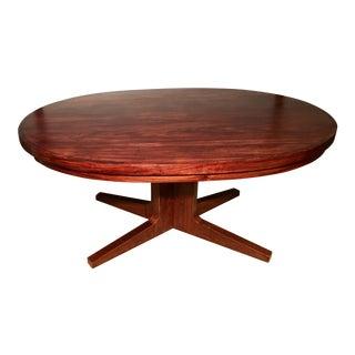 Dyrlund Rosewood Flip-Flap Table
