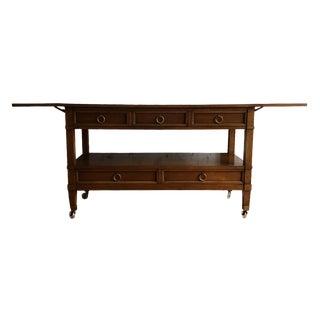 Milling Road / Baker Furniture Drop Leaf Server / Sideboard