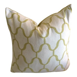 Moroccan Trellis Contrast Back Pillow