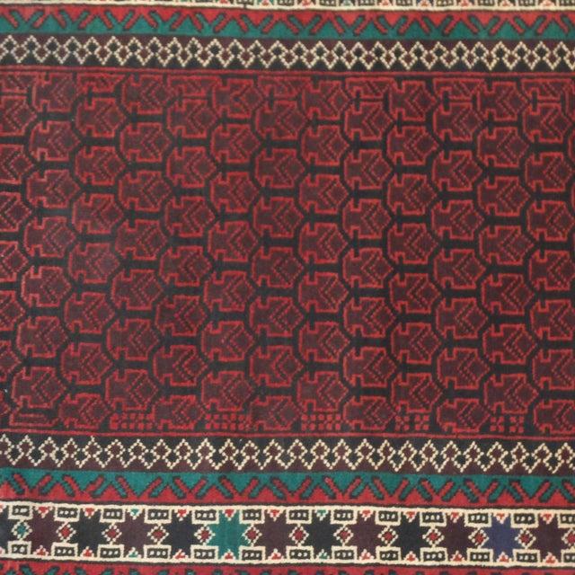 Vintage Baluch Rug - 3' x 5' - Image 3 of 5