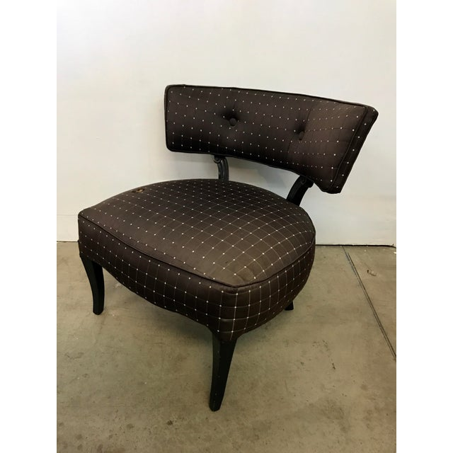 Billy Haines Style Slipper Chair - Image 2 of 10