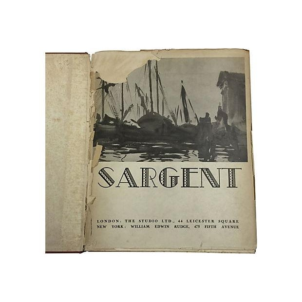 """"""" Famous Water Colour Painters"""" 1930 Book by J. S. Sargent - Image 4 of 10"""