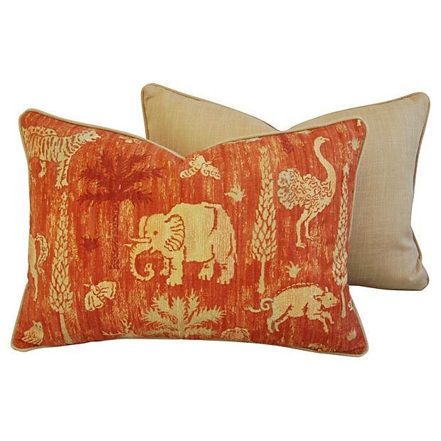 Custom Travers Old World Byzantine Pillows - Pair - Image 6 of 7