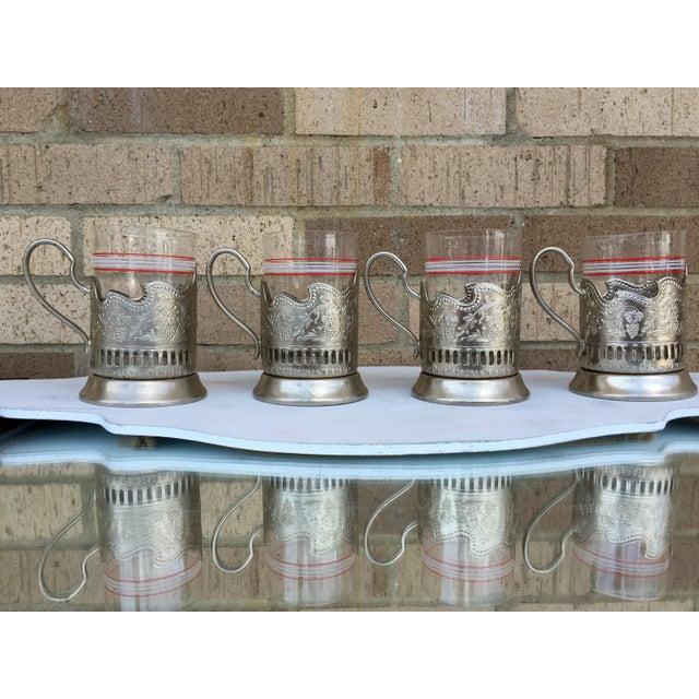 Russian Tea Glasses - Set of 4 - Image 2 of 5