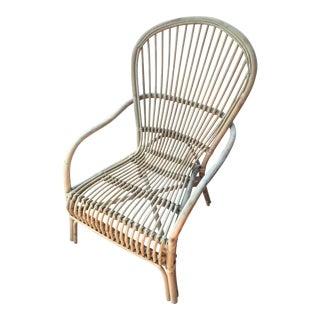 Indonesian Rattan Lounge Chair