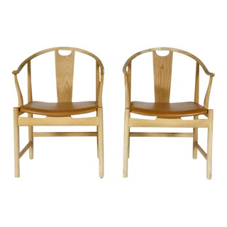 Hans J. Wegner for PP Mobler China Chairs - A Pair