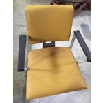 Image of Vintage Yellow Office Chair