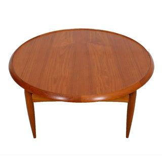 Danish Modern Teak Finn Juhl Style Reversible Coffee Table