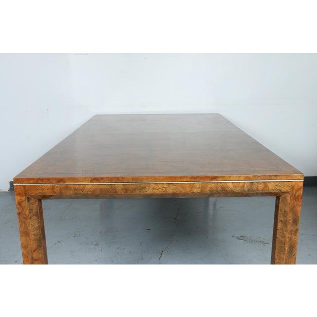 Master Burlwood Dining Table - Image 10 of 11