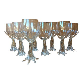 Fisher Art Glass Stemware - Set of 8