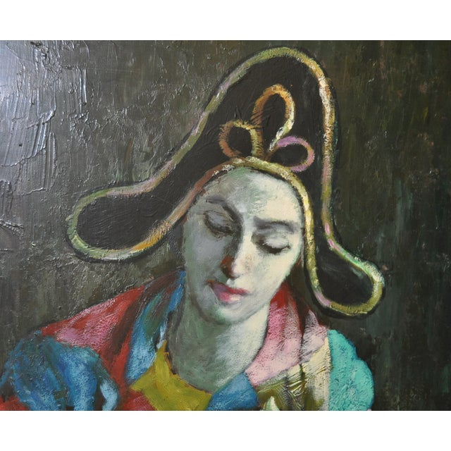Vintage Painting After Picasso C.1970 - Image 4 of 7