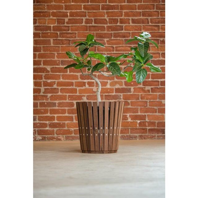 Customizable Plantum American Hardwood Modular Planter Cover - Image 2 of 7